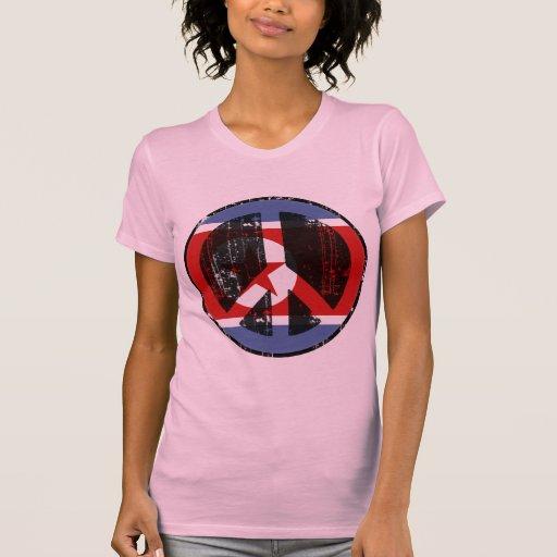 Paz en Corea del Norte Camisetas