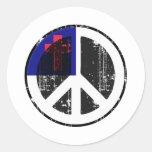 Paz en cristiano etiqueta