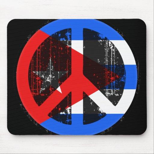 Paz en Cuba Tapete De Ratones