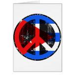 Paz en Cuba Tarjetón
