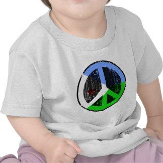 Paz en Djibouti Camisetas