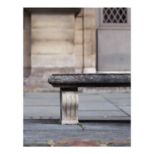Paz en el Louvre Membrete A Diseño