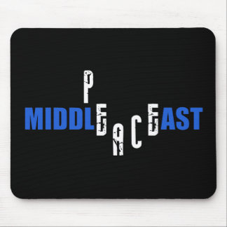 Paz en el Oriente Medio Tapete De Ratones