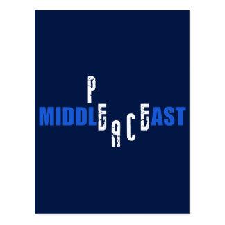Paz en el Oriente Medio Postales