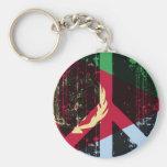 Paz en Eritrea Llavero Personalizado