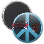 Paz en Fiji Imán Para Frigorifico