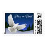 Paz en franqueo de la paloma de la tierra