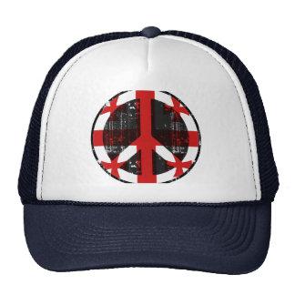 Paz en Georgia Gorras De Camionero