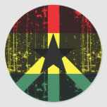 Paz en Ghana Etiqueta