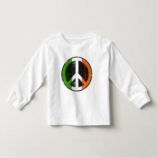 Paz en Irlanda Camiseta