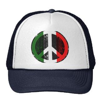 Paz en Italia Gorras