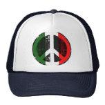 Paz en Italia Gorros Bordados