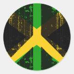 Paz en Jamaica Pegatinas