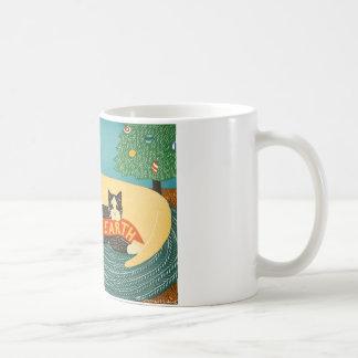 Paz en la galería de Stephen Huneck de la tierra Tazas De Café