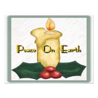 Paz en la invitación de la tierra