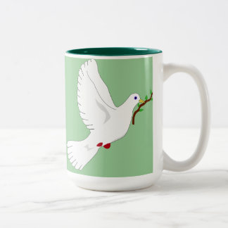 Paz en la taza de la tierra