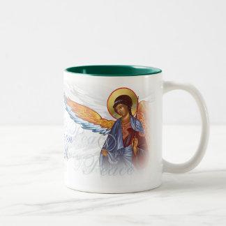 Paz en la taza de los ángeles de la tierra