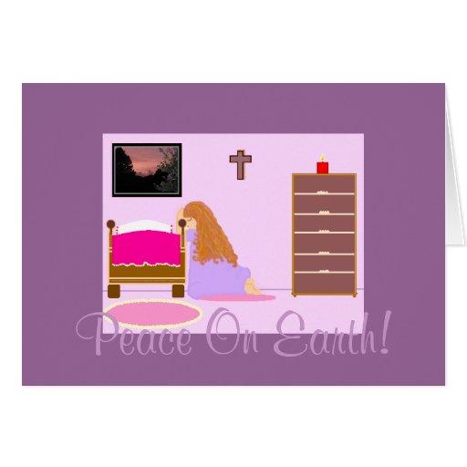 ¡Paz en la tierra #2! Tarjeta De Felicitación