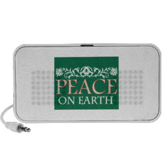 Paz en la tierra mini altavoz