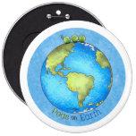 Paz en la tierra - Día de la Tierra Pin