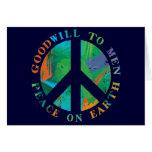 Paz en la tierra felicitación