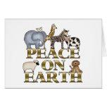 Paz en la tierra felicitacion