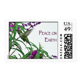 Paz en la tierra franqueo