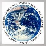 Paz en la tierra impresiones