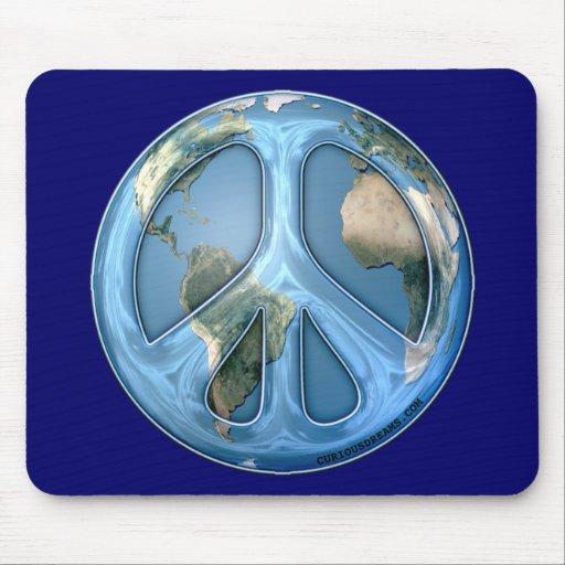 Paz en la tierra Mousepad