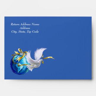 Paz en la tierra.  Navidad, los sobres del Año
