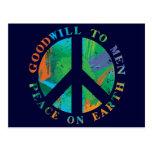 Paz en la tierra postales