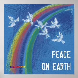 Paz en la tierra - poster