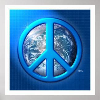 Paz en la tierra póster