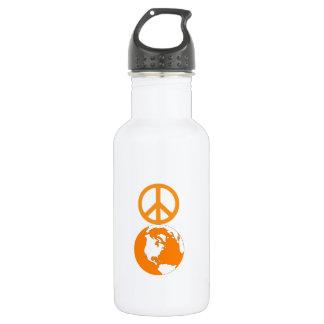 Paz en la tierra Waterbottle