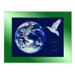 Paz en las postales de la tierra