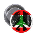 Paz en Líbano Pin
