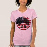 Paz en los E.E.U.U. Camiseta