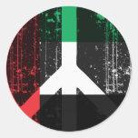 Paz en los Uae Etiqueta