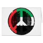 Paz en los Uae Tarjeta