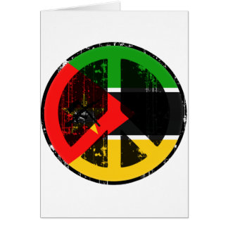 Paz en Mozambique Felicitación