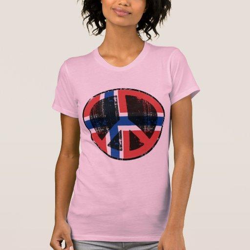 Paz en Noruega Remeras