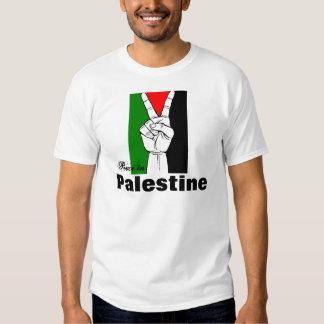 Paz en Palestina (2 echados a un lado) Remera