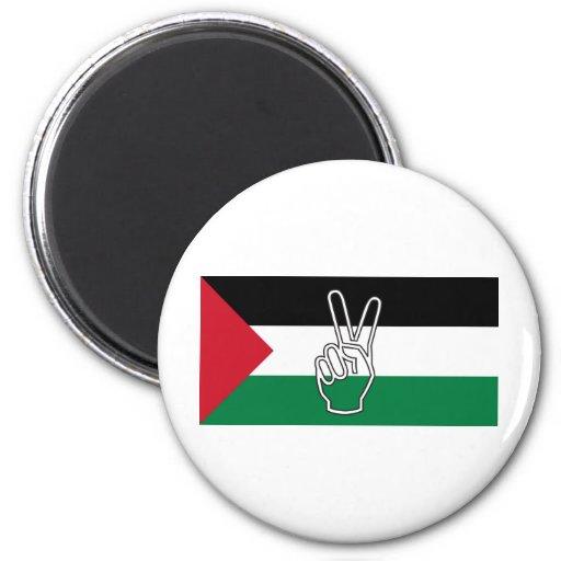 Paz en Palestina Imanes