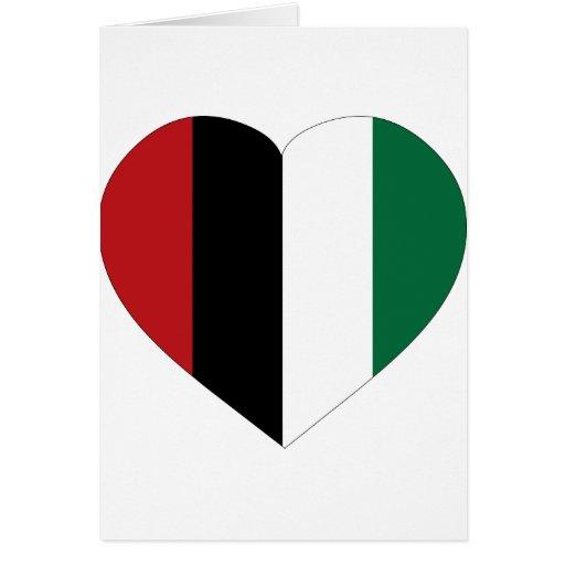 Paz en Palestina Tarjeta De Felicitación