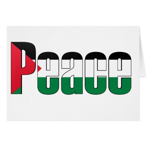 Paz en Palestina Tarjetas