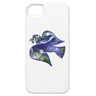 Paz en paloma de la tierra iPhone 5 carcasas