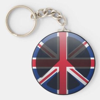 Paz en Reino Unido Llaveros Personalizados