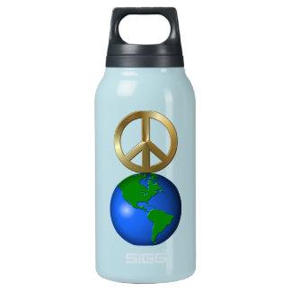 Paz en rompecabezas de la palabra de la tierra