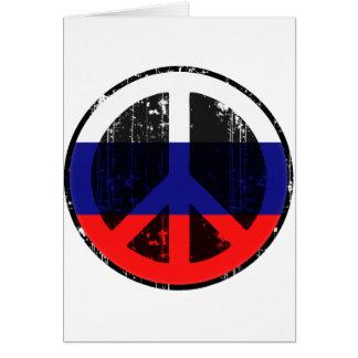 Paz en Rusia Felicitacion