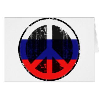 Paz en Rusia Felicitaciones